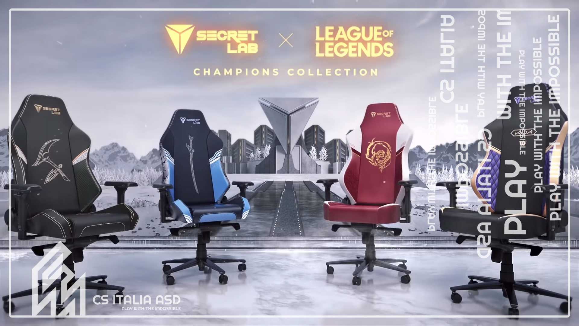 Secret Lab X Worlds 2020 of League of Legends!