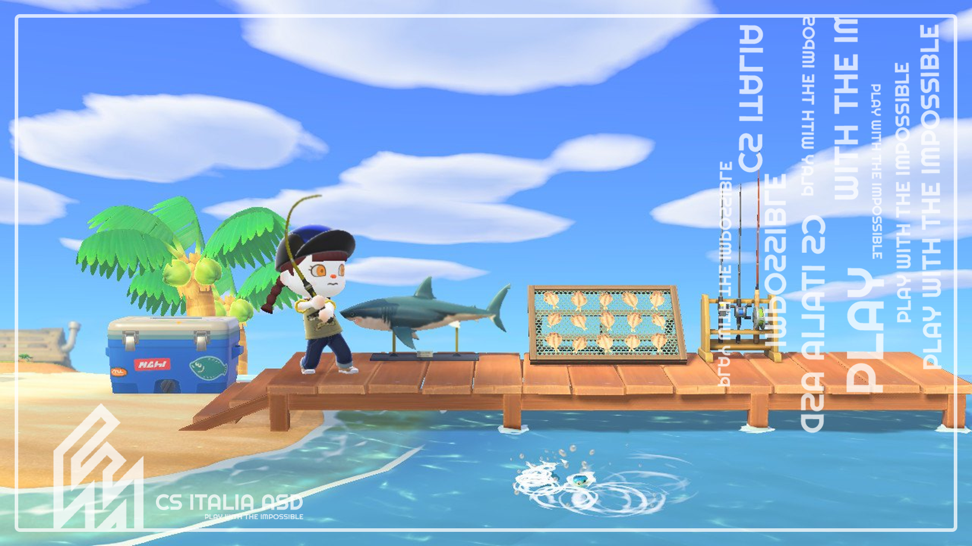 Terza edizione del torneo di pesca di Animal Crossing: New Horizons
